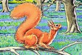 Little Red Squirrel 7 - Harry M. Pettit