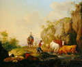 Landscape with Herdsman and Rustics, 1783 - Johann Georg Pforr
