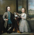 William Humphrey Wykeham 1734-83 and Richard Wykeham 1739-1805 - Richard Phelps