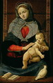 Madonna and Child with a Dove - Cosimo Piero di