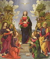 Immaculate Conception and Six Saints - Cosimo Piero di