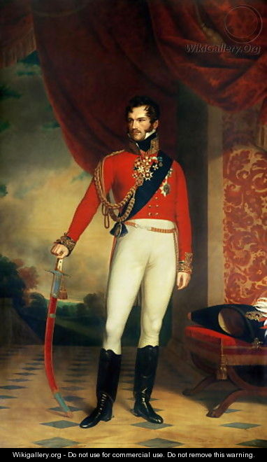 The Prince of Orange, later King William II of the Netherlands 1792-1849 - Nicholas Pieneman