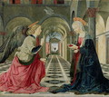 The Annunciation - Lauro de Manfredi da Amelia Piermatteo