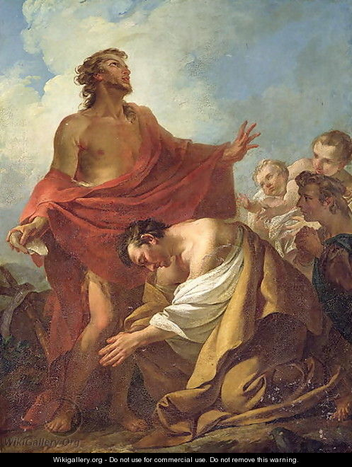 St. John the Baptist Baptising the Jews in the Desert, 1743 - Jean-Baptiste-Marie Pierre