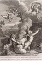 Arethusa Pursued by Alpheus and Turned into a Fountain, 1731 - Bernard Picart