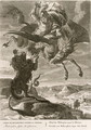 Bellerophon Fights the Chimaera, 1731 - Bernard Picart