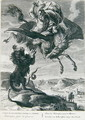 Bellerophon fights the Chimera - Bernard Picart