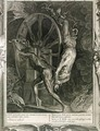 Ixion in Tartarus on the Wheel, 1731 - Bernard Picart