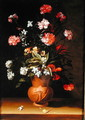 Still life with flowers - Jean Picart