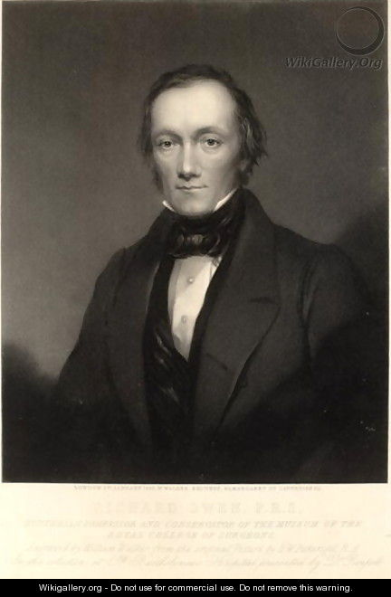 Sir Richard Owen - (after) Pickersgill, Henry William