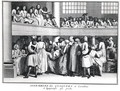 A Quaker Assembly in London, 1736 - (after) Picart, Bernard