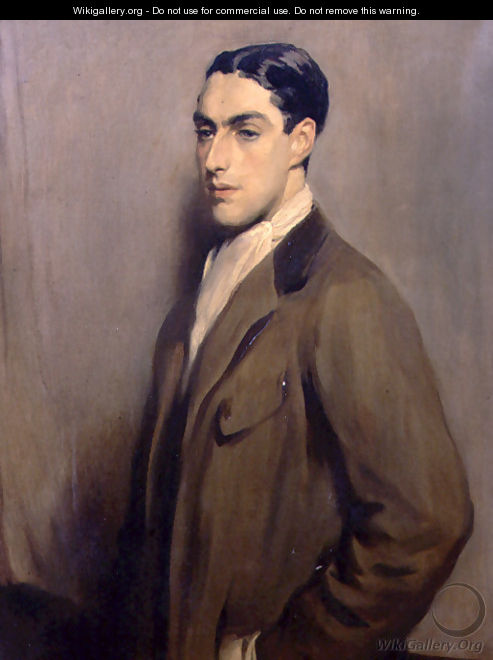 Portrait of Frank Meyer, c.1910 - Glyn Warren Philpot