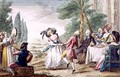 Florentine Games, the Dance - Guiseppe Piattoli
