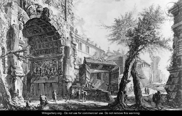 Arch of Titus - Giovanni Battista Piranesi