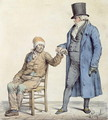 You are Fine, depiction of the poor mans doctor, engraved by Langlume fl.1822-24 1825 - (after) Pigal, Edme Jean
