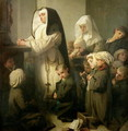 The Prayer of the Children Suffering from Ringworm, 1853 - Isidore Alexandre Augustin Pils