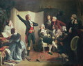 Rouget de Lisle 1760-1836 singing the Marseillaise at the home of Dietrich, Mayor of Strasbourg, 26th April 1792 - Isidore Alexandre Augustin Pils
