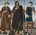 SS. Vincent of Saragossa, James and Eustace - Piero del Pollaiolo