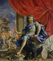 Louis XIV 1638-1715 as Jupiter Conquering the Fronde, 1648-67 - Charles Poerson