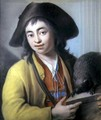 Peasant Boy with a Marmot, 1732 - Luigi Pitti