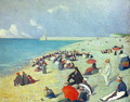 On The Beach - Leon Pourtau