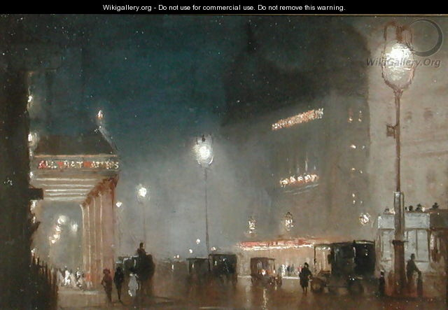 The Haymarket, London, c1910 - George Hyde Pownall