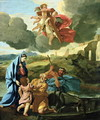 The Return of the Holy Family from Egypt - Nicolas Poussin