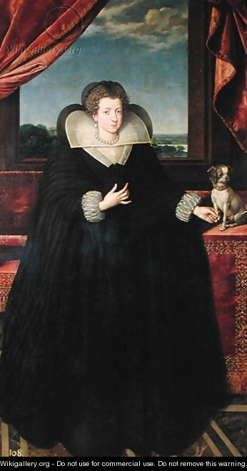 Isabella of Bourbon 1602-44 Queen of Spain, 1615-22 - Frans, the Younger Pourbus