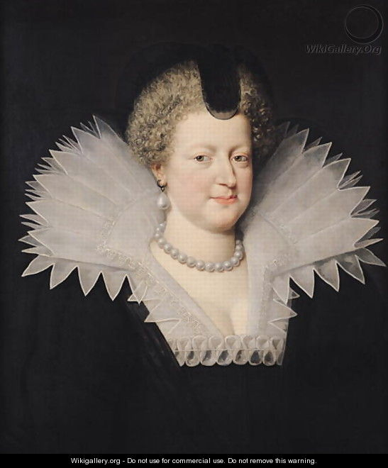 Marie de Medici 1573-1642 - Frans, the Younger Pourbus