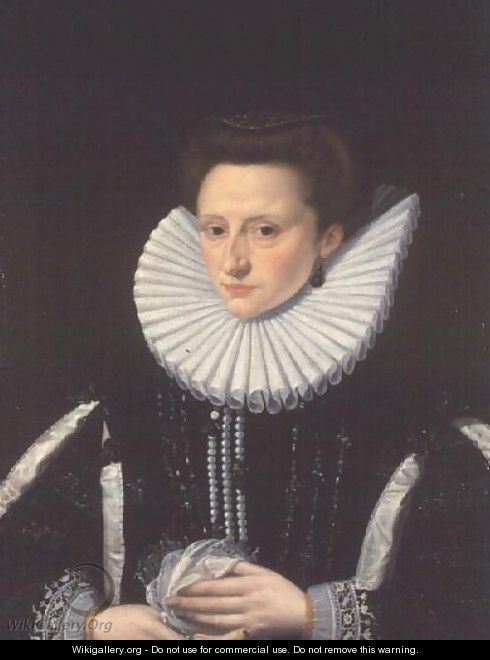 Portrait of a Noble Lady - Frans, the Younger Pourbus