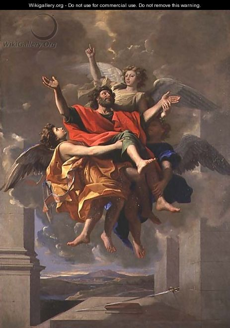 The Vision of St. Paul, 1649-50 - Nicolas Poussin