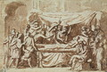 The Death of Germanicus 15BC-19AD c.1630 - Nicolas Poussin