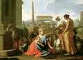 The Rest on the Flight into Egypt - Nicolas Poussin