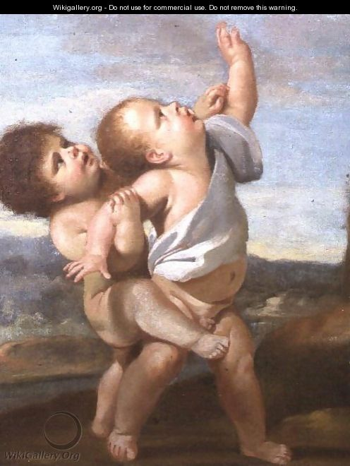 Two Putti - Nicolas Poussin