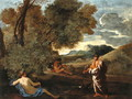 Landscape with Numa Pompilius and the Nymph Egeria, 1624-27 - Nicolas Poussin