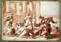 Study for the Adoration of the Magi - Nicolas Poussin
