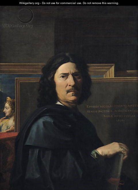 Portrait of the Artist, 1650 - Nicolas Poussin