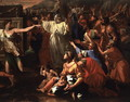 The Adoration of the Golden Calf, before 1634 2 - Nicolas Poussin