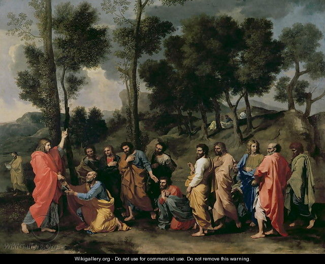 Ordination, c.1638-40 - Nicolas Poussin
