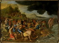 The Crossing of the Red Sea, c.1634 - Nicolas Poussin