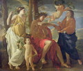 The Poets Inspiration - Nicolas Poussin