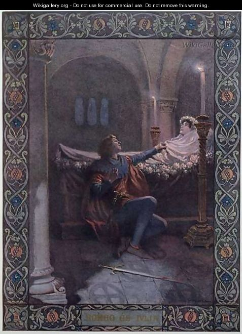 Romeo and Juliet, c.1900 - Christian August Printz