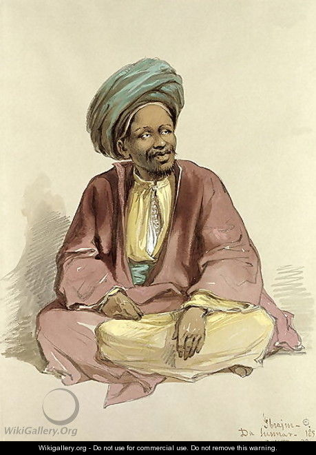Ibrahim - from Sunnar, 1856 - Amadeo Preziosi