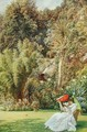 In a Garden, 1891 - Sir Edward John Poynter