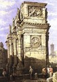 Arch of Constantine - Samuel Prout