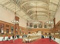 The Waterloo Gallery, Windsor Castle, on the visit of the Emperor of Russia, 1838 - James Baker Pyne