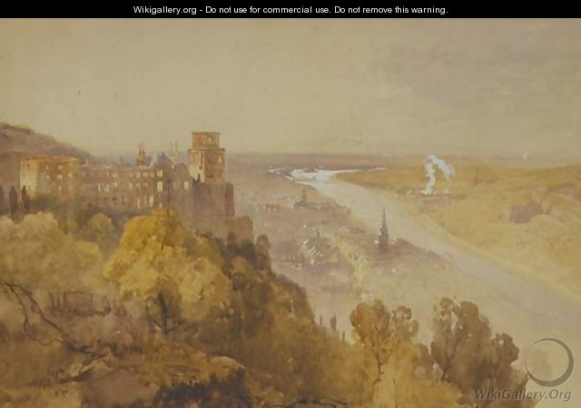 View of Heidelberg - James Baker Pyne