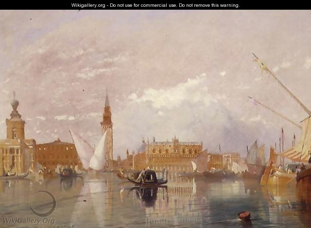 View of Venice, 1867 - James Baker Pyne