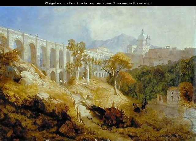 The Aqueduct at Arricia, Near Rome, 1866 - James Baker Pyne