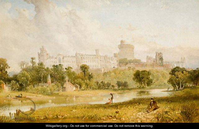 Windsor Castle - James Baker Pyne